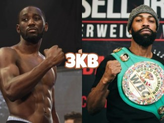 Terence Crawford and Gary Russel Jr.