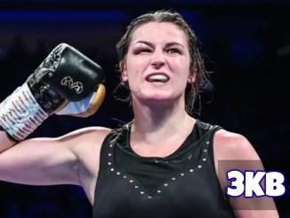 Katie Taylor Celebrates Victory