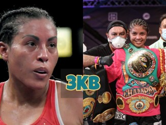 Cecilia Braekhus eyeing Jessica McCaskill with her belts