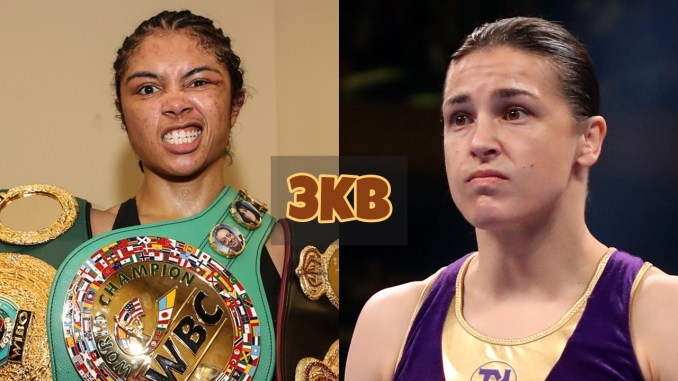 Jessica McCaskill and Katie Taylor