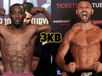 Terence Crawford (left), Kell Brook