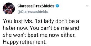 Claressa Shields claps back at Cecilia Braekhus