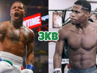 Gervonta Davis (left), Devin Haney
