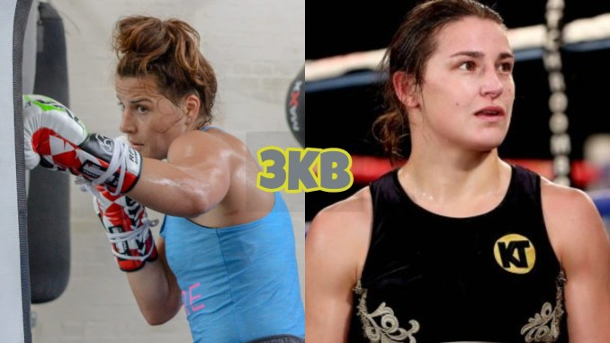 Chanelle Cameron and Katie Taylor