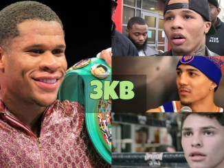 Devin Haney, Gervonta Davis, Teofimo Lopez and Ryan Garcia