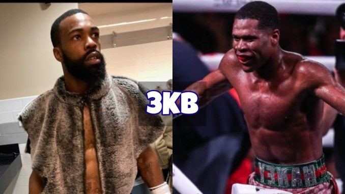 Gary Russell Jr taunts Devin Haney