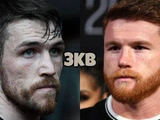 "Callum Smith (left), Saul ""Canelo"" Alvarez"