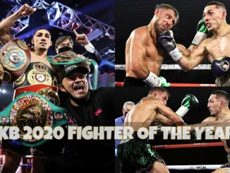 Teofimo Lopez defeats Vasiliy Lomachenko to capture three lightweight belts.