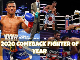 Roman Gonzalez defeats Israel Gonzalez and Kal Yafai in 2020.
