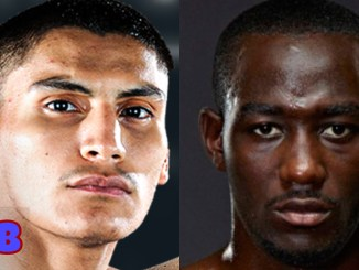 Vergil Ortiz Jr. (left), Terence Crawford