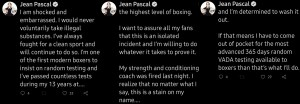 Jean Pascal expresses embarrassment over failed PED test