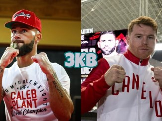 IBF Super Middleweight champion Caleb Plant, Unified champion Canelo Alvarez