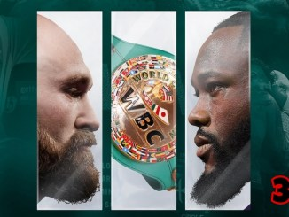 Tyson Fury v Deontay Wilder 3 poster