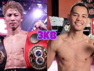 Unified Bantamweight champion Naoya Inoue, WBC Bantamweight champion Nonito Donaire