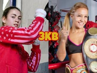 IBF junior flyweight champion Evelin Bermudez, WBA champion Yesica Bopp