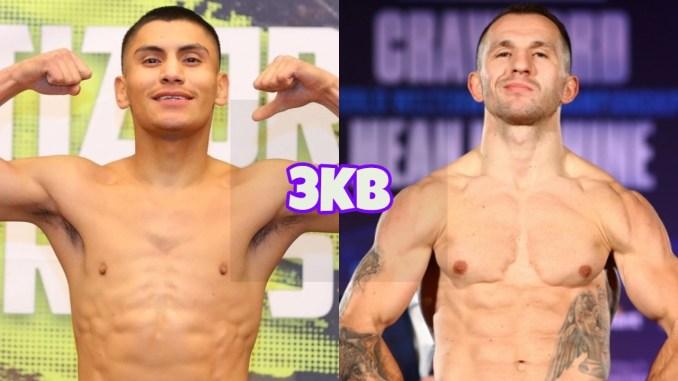 Rising welterweight contender Vergil Ortiz Jr, Egidijus Kavaliauskas