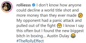 Rolando Romero says Austin Dulay is scared to fight him