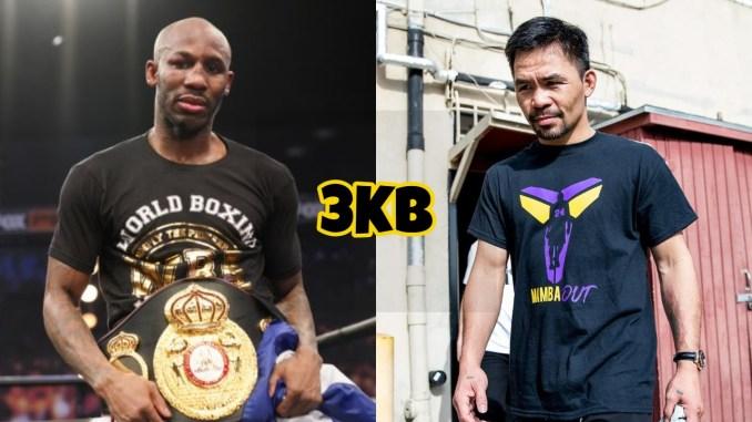 WBA welterweight champion Yordenis Ugas, WBA Champion in Recess Manny Pacquiao