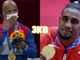 Olympic gold medalist Roniel Iglesias, Olympic gold medalist Arlen Lopez
