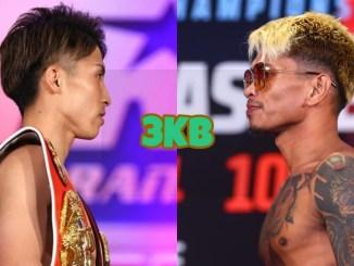 Unified bantamweight champion Naoya Inoue, WBO bantamweight champion John Riel Casimero