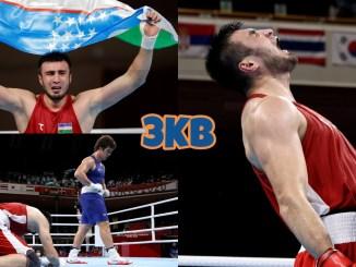 Bakhodir Jalolov claims Olympic gold with defeat of Richard Torrez Jr