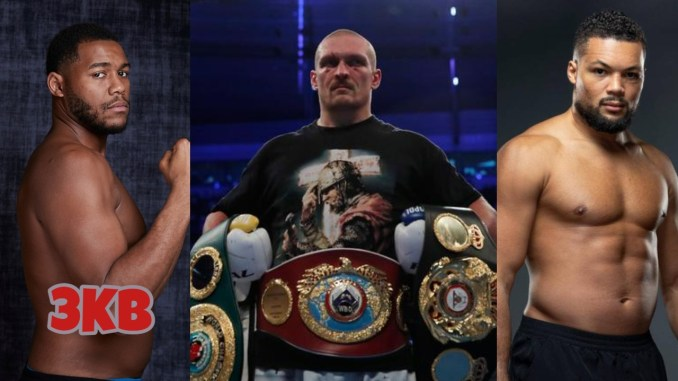 Michael Hunter, unified heavyweight champion Oleksandr Usyk, Joe Joyce