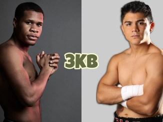WBC lightweight champion Devin Haney, mandatory challenger Joseph Diaz