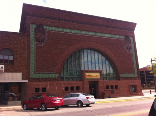 A Wells Fargo Bank in Owatonna, designed by Louis Sullivan