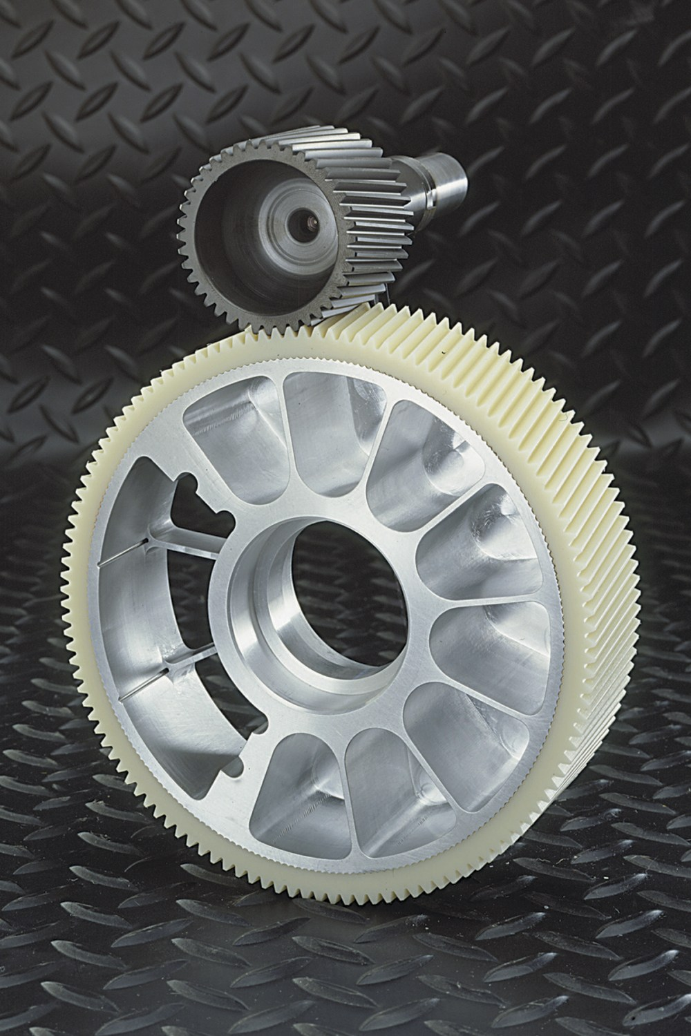 medium resolution of these are self lubricating metal core gears from intech for applications with frequent start
