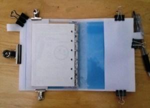 手帳カバー型紙