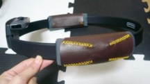 初心者向けリングフィットアドベンチャー用革製カバーの作り方 ~型紙付き~