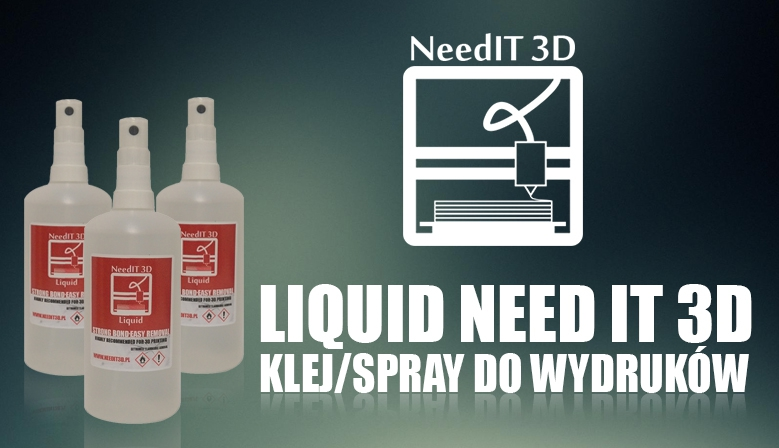 Klej Liquid Need IT 3D do wydruków