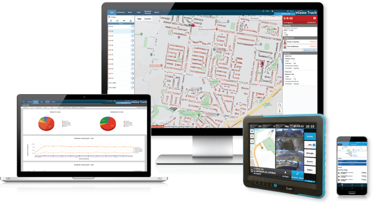 3Logix WasteTrack Software for Waste, Recycling and Environmental Services