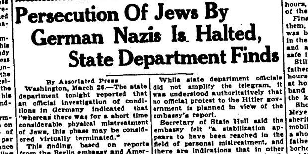 ASU students uncover Holocaust history through newspaper