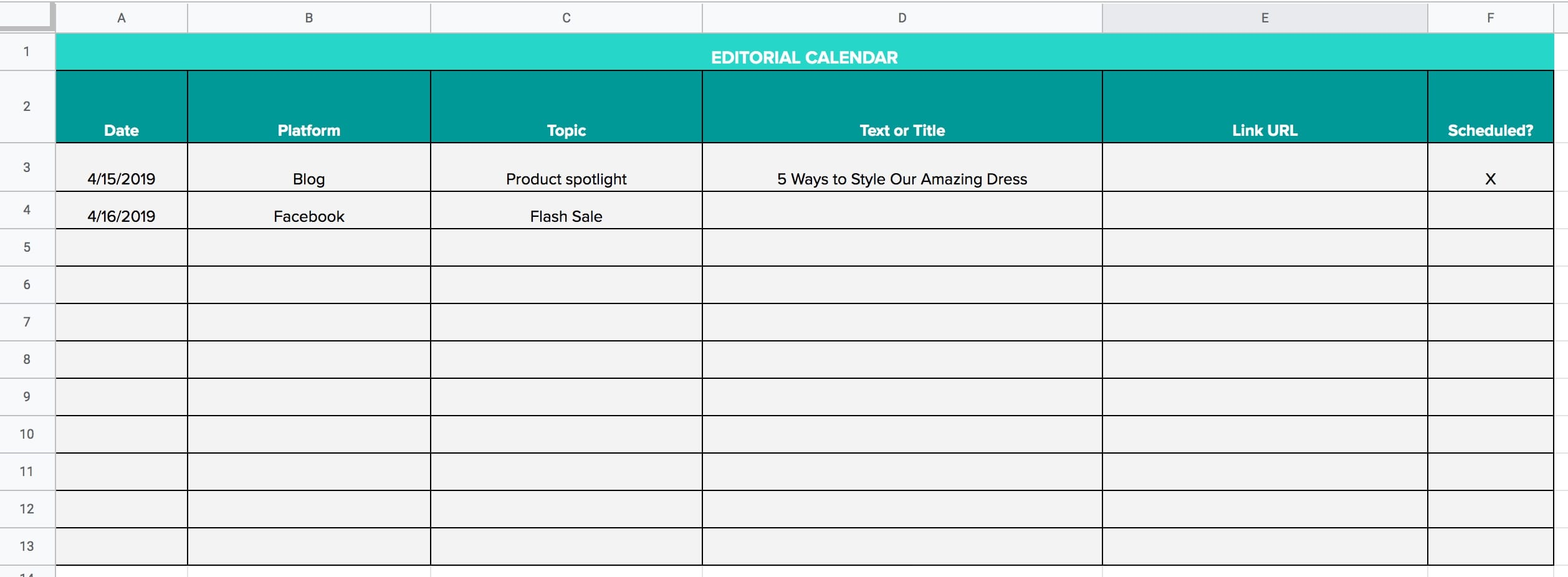 Free Excel Templates For Small Business Owners
