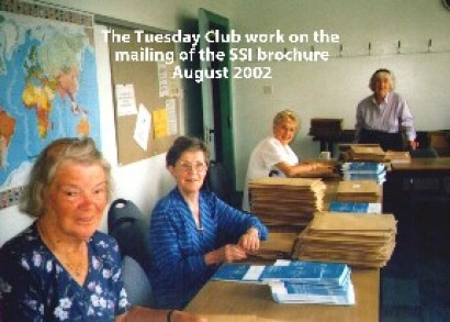 Tuesday Club August 2002