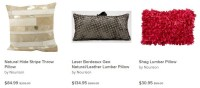 Decorate Your Bachelor Pad with Nourison Pillows