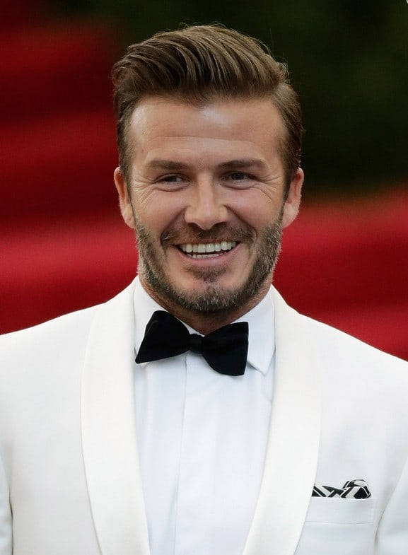 How To Get David Beckham's Undercut Haircut 27 David Beckham