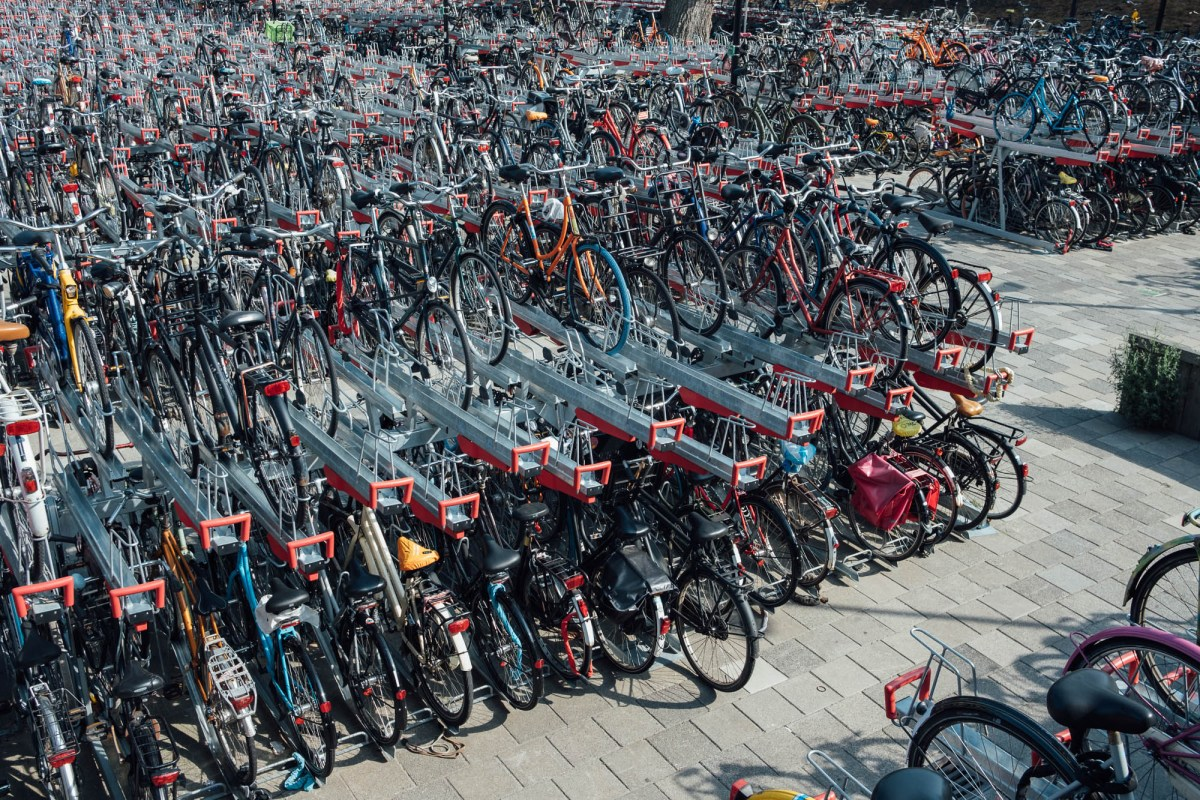 bike parking netherlands