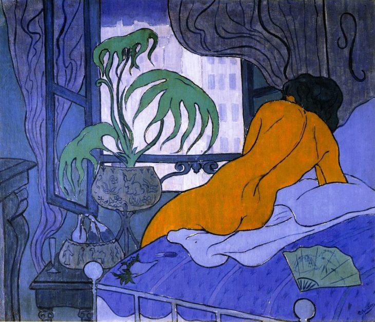 Paul Ranson La habitacin azul 1891  3 minutos de arte