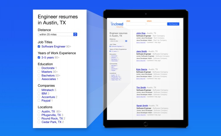 How to Use Advanced Resume Search Features to Find the Right Candidates  Indeed Blog