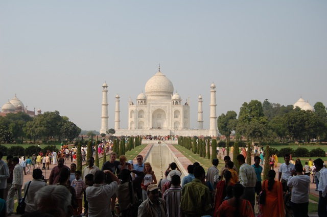 The Amazing Taj Mahal  3 Months In India