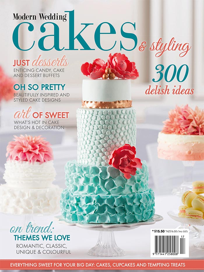 NEW Modern Wedding Cakes Amp Styling Magazine On Sale
