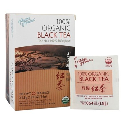 Prince of Peace Organic Black Tea - FREE SHIPPING with AMAZON PRIME