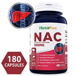 NusaPure All-Natural Non-GMO N-Acetyl Cysteine (NAC) - FREE SHIPPING with AMAZON PRIME