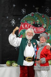 Getting Kids Eating Healthy Real Foods alongside Sustainable Santa®