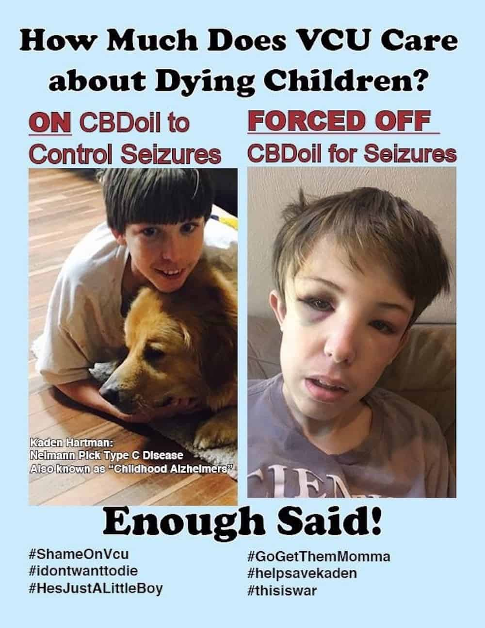 13-Year-Old Denied Life-Saving Treatment Because He Used CBD Oil