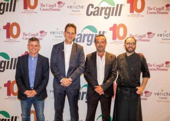 Executives of Cargill at the exhibition