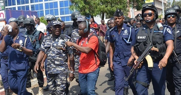 Police foil robbery in Savelugu as residents alerted on injured suspects