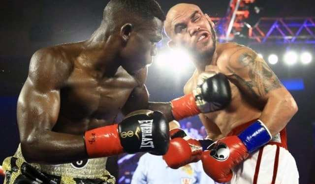 Lightweight titlist Richard Commey dominated Ray Beltran on Friday night, scoring four knockdowns in an eighth-round TKO win.